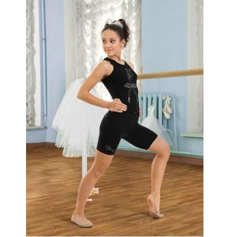 SGBM 201026 Майка-борцовка для девочек Arina Ballerina