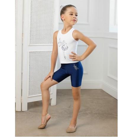 SGBM 201249 Майка для девочек Arina Ballerina
