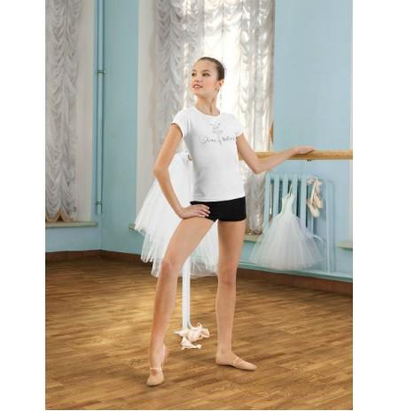 SGF 201022 Футболка для девочек Arina Ballerina