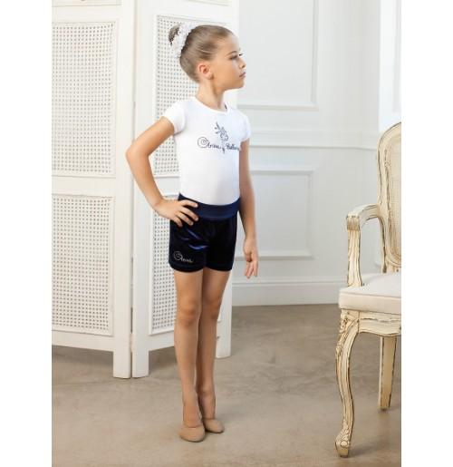 SGF 201248 Футболка для девочек Arina Ballerina